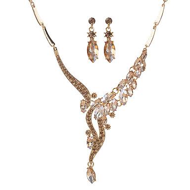 Dámské Sady šperků Akrylát Slitina Kapka Euramerican Módní Párty Denní 1 x náhrdelník 1 x pár náušnic Kostýmní šperky