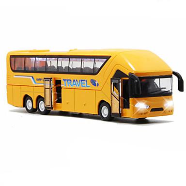 hesapli Oyuncaklar ve Oyunlar-Oyuncak Arabalar Geri Çekme Araçları Otobüs Otobüs Klasik Simülasyon Klasik Unisex Genç Erkek Genç Kız Oyuncaklar Hediye