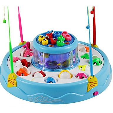 Brinquedos de pesca Brinquedos Magnética Elétrico Plásticos Crianças Peças