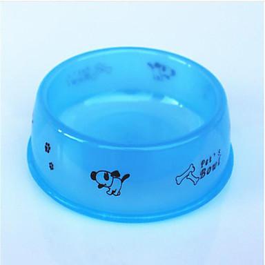 Kočka Pes misky a lahvičky Krmítka Domácí mazlíčci Mísy a krmení Voděodolný Přenosný Oranžová Modrá