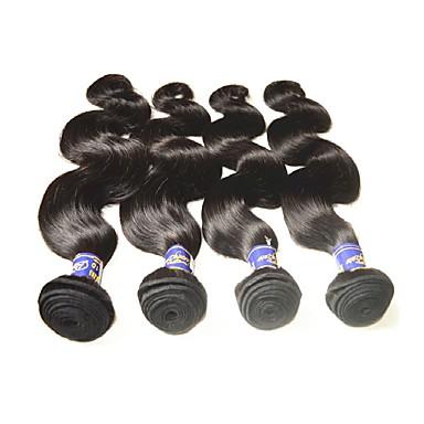povoljno Remy umeci od ljudske kose-Remy kosa Remy umeci od ljudske kose Tijelo Wave Peruanska kosa 200 g 1 godina