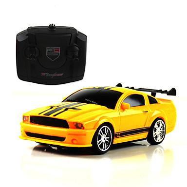 Hračky na dálkové ovládání Autíčka Herní sady pro auta Závodní auto Hračky Dálkový ovladač Dobíjecí Simulace Auto Plastický Pieces Dětské
