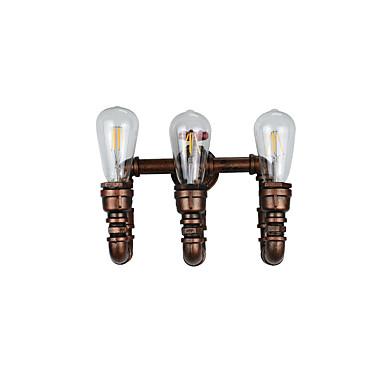 AC 220-240 12 E27 Venkovský styl tradiční klasika Starožitná mosaz vlastnost for LED Včetně žárovky,Rozptýlené světloNástěnná LED
