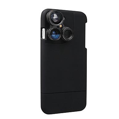 4 em 1 estojo de lente iphone 7 kit de lente de câmera lentes de olho de peixe / lente macro / lente grande angular / lente de telefoto