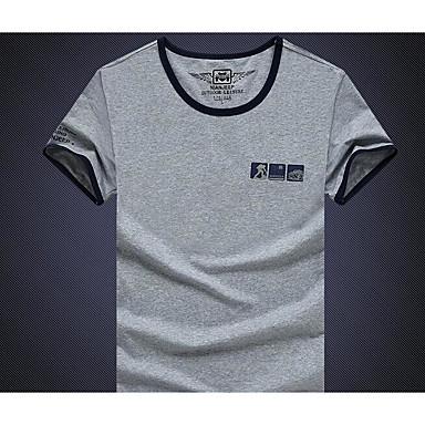 Miesten T-paita vaellukseen varten Kuntoilu Juoksu M L XL XXL XXXL