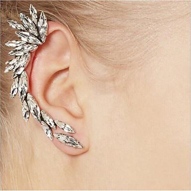 Dámské Náušnice - Klipsy - Leaf Shape Přizpůsobeno, Jedinečný design Stříbrná Pro Vánoční dárky / Svatební / Párty / Výročí / Narozeniny