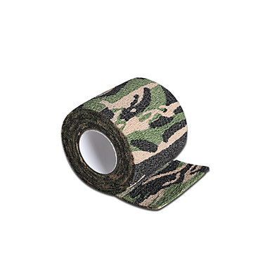 Disposable Tattoo Grip Cover Self-adhesive Elastic Bandage Camouflage Color 5*450cm