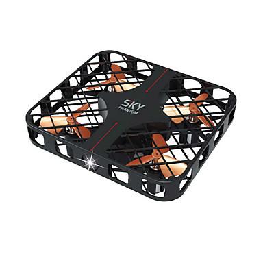 RC Drone JJRC HY382 Black 4CH 6 Eixos 2.4G - Quadcópero com CR Luzes LED Seguro Contra Falhas Modo Espelho Inteligente Flutuar