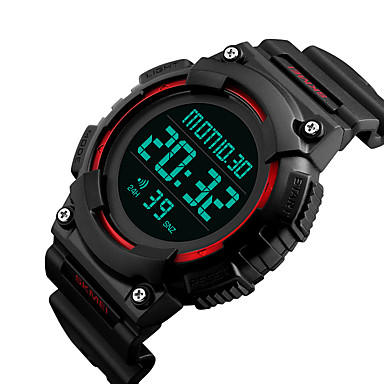 Smartwatch YYSKMEI1248 for Long Standby / Water Resistant / Water Proof / Multifunction / Sports Stopwatch / Alarm Clock / Chronograph / Calendar / Dual Time Zones