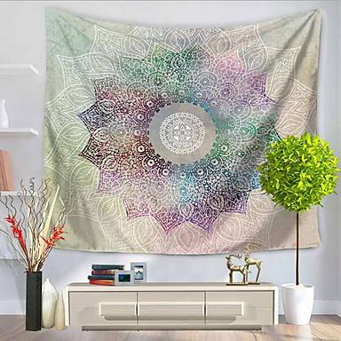Wand-Dekor 100% Polyester Künstlerisch Muster Wandkunst, Wandteppiche von 1