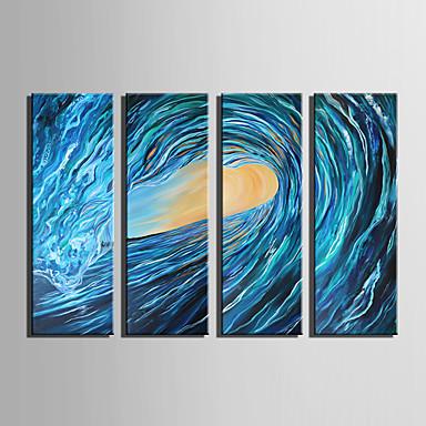Canvastaulu 4 paneeli Kanvas Pysty Painettu Wall Decor For Kodinsisustus