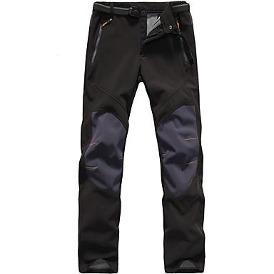 Férfi Planinarske hlače Külső Vízálló, Melegen tartani, Szélbiztos Ősz / Tél 100% Poliészter, Softshell Alsók Vadászat / Halászat /