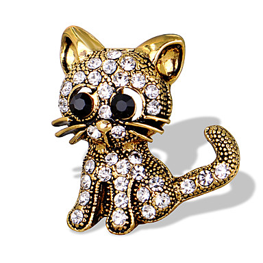 Women's Brooches - Animal Unique Design, Fashion, Cute Brooch Gold / Silver For Special Occasion / Event / Party / Daily / Casual