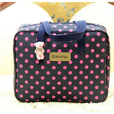 Women Bags All Seasons Oxford Cloth Polyester Travel Bag for Casual Outdoor Blue Apricot Fuchsia Amethyst