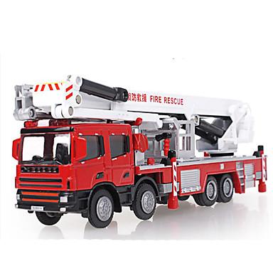 KDW Carros de Brinquedo Veículos de Metal Brinquedos Motocicletas Trem Caminhão de Bombeiro Brinquedos Rectângular Cauda Caminhões de
