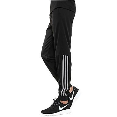 Men's Women's Running Pants Pants / Trousers Fitness, Running & Yoga Breathable for Running/Jogging Exercise & Fitness Loose Black
