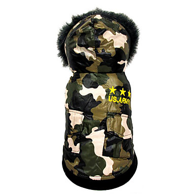 Dog Jumpsuit Dog Clothes American / USA Cotton Costume For Pets Men's / Women's Casual / Daily