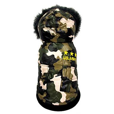Kutya Jumpsuitek Kutyaruházat Amerikai / USA Pamut Jelmez Háziállatok számára Férfi / Női Casual / hétköznapi