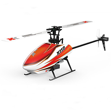RC Helicopter XK K110 6CH 3 Axis 2.4G Brushless Electric - Remote Control / RC Flybarless