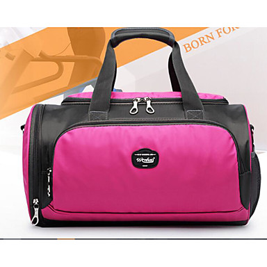 Women Bags All Seasons Polyester Shoulder Bag for Casual Outdoor Black Purple Fuchsia
