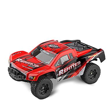 RC Car WL Toys A313 2,4G Off Road Car Korkea nopeus Drift Car Lastenvaunut Maasturi 2WD 1:12 Sähköharja 35 KM / H Kauko-ohjain Ladattava