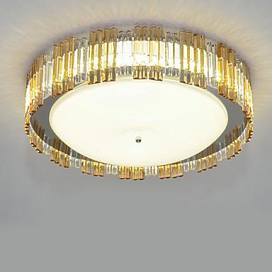 LED Chique & Moderno Moderno/Contemporâneo Cristal Montagem do Fluxo Luz Ambiente Para Branco Quente Branco 880lm 110-120V 220-240V