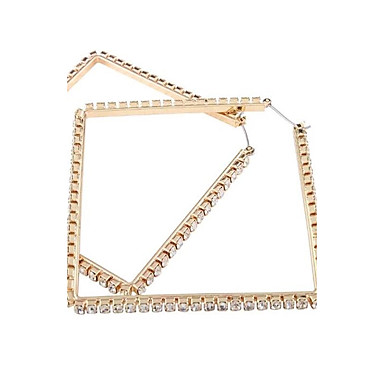 Women's Drop Earrings Jewelry Fashion Oversized Alloy Geometric Jewelry For Wedding Gift Daily Casual Valentine