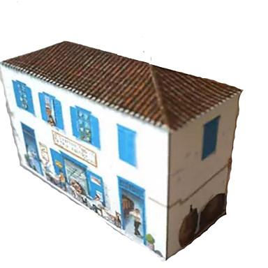 Quebra-Cabeças 3D Artesanato de Papel Construções Famosas Casa Faça Você Mesmo Cartão de Papel Duro Crianças Unisexo Dom