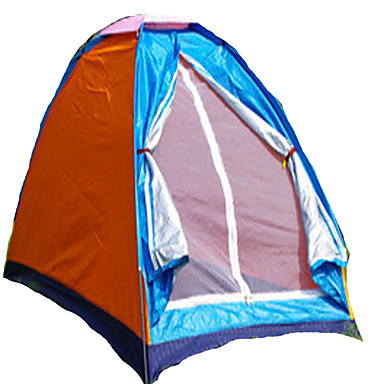 1 person Tent Single Camping Tent One Room Fold Tent Keep Warm Dust Proof for Camping / Hiking <1000mm Polyester CM
