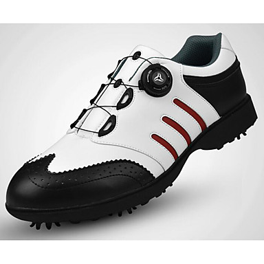 Sapatos para Golf Homens Golf Retratável Macio Non-Slip Esportes Esportes Espetáculo Praticar Esportes Relaxantes Estilo Artístico Estilo