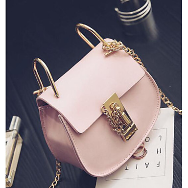 Women Bags All Seasons PU Shoulder Bag for Casual Outdoor White Blushing Pink Gray