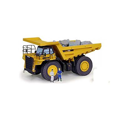 Carros de Brinquedo Quebra-Cabeças 3D Quebra-Cabeça Artesanato de Papel Caminhão 3D Faça Você Mesmo Clássico Veiculo de Construção