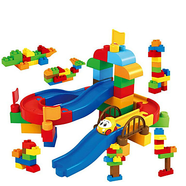 Toy Cars Balls Track Rail Car Marble Track Set Marble Run Toys 3D Plastics Cartoon High Quality 1 Pieces Kids Christmas Children's Day