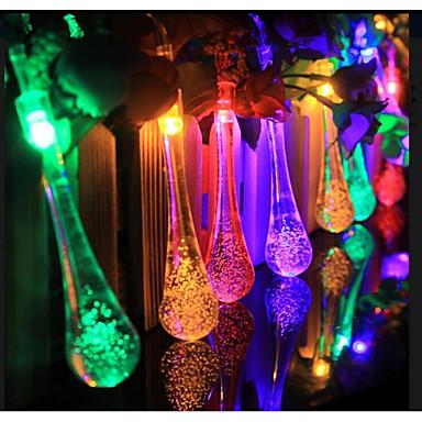 Luzes LED Plástico / PCB + LED / Mistura de Material Decorações do casamento Casamento / Festa / Ocasião Especial Tema Clássico Todas as Estações