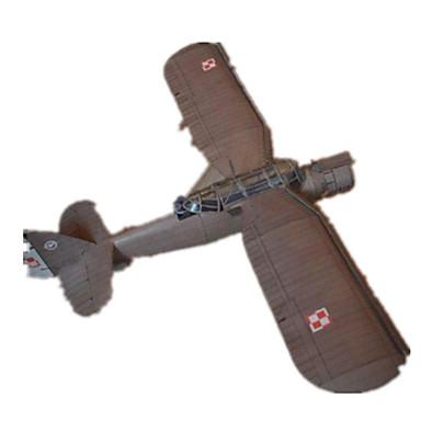 voordelige 3D-puzzels-3D-puzzels Bouwplaat Modelbouwsets Verkenningsvliegtuig DHZ Hard Kaart Paper Klassiek Kinderen Unisex Speeltjes Geschenk