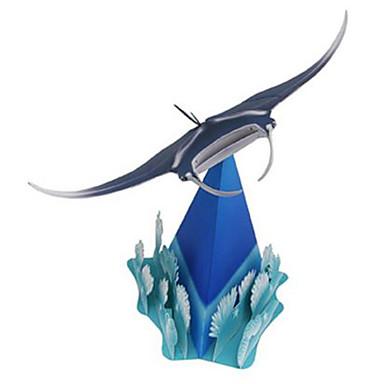 voordelige 3D-puzzels-3D-puzzels Bouwplaat Modelbouwsets Vissen Geest Dieren DHZ Hard Kaart Paper Klassiek Kinderen Unisex Speeltjes Geschenk