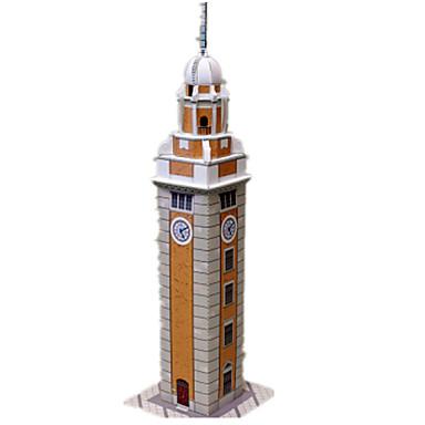 Quebra-Cabeças 3D Maquetes de Papel Artesanato de Papel Brinquedos de Montar Torre Construções Famosas Arquitetura Faça Você Mesmo