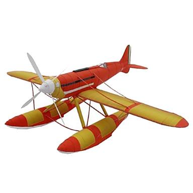 3D-puslespill Papirmodell Modellsett Papirkunst Leketøy Kvadrat Luftkraft 3D GDS simulering Hardt Kortpapir Unisex Deler