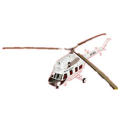 voordelige 3D-puzzels-3D-puzzels Bouwplaat Helikopter DHZ Hard Kaart Paper Helikopter Kinderen Unisex Speeltjes Geschenk