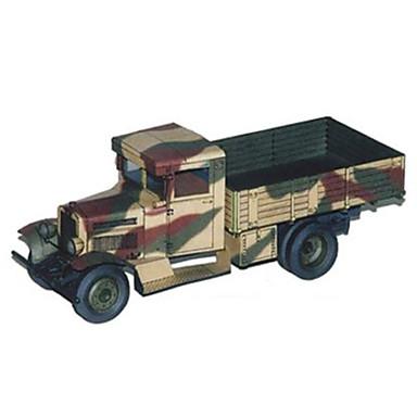 Leluautot 3D palapeli Paperimalli Kuorma-auto Lelut Neliö Avolava Kova kartonki Ei määritelty Pieces