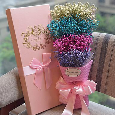 Bryllup jubileum Gave Valentine Høsttakkefest Valentinsdag Fester og gaver - Gaver Kunstig blomst Gavebokse Blomst Tør Miljøvennlig