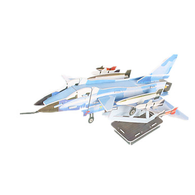3D Puzzles Model Building Kits Toys Plane / Aircraft Fighter DIY High Quality Paper Not Specified Unisex Pieces