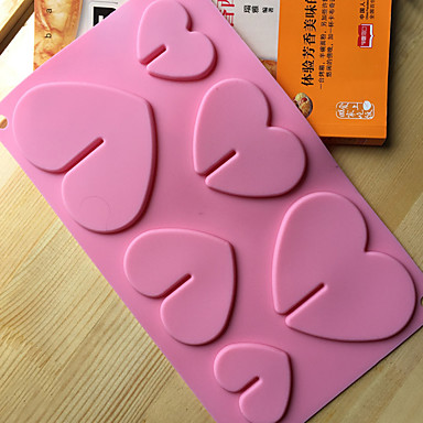Cake Molds Novelty Heart-Shaped Cooking Utensils Bread Chocolate Cake Silica Gel Baking Tool Creative Kitchen Gadget High Quality