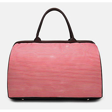 Unisex Bags All Seasons Oxford Cloth Polyester Travel Bag for Casual Outdoor Blushing Pink Coffee