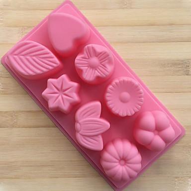 2 deler Cake Moulds Nyhet Til Brød Til Sjokolade Til Kake For kjøkkenutstyr 3D Høy kvalitet Kreativ Kjøkken Gadget GDS baking Tool