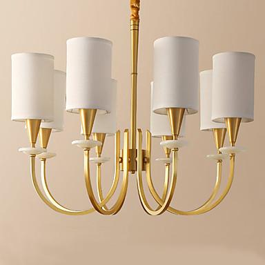 8-luz Lustres Luz Superior - Estilo Mini, 110-120V / 220-240V Lâmpada Não Incluída / 10-15㎡ / E26 / E27