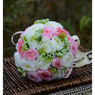 Bouquets de Noiva Buquês Casamento Organza Cetim 11.02