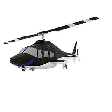 Quebra-Cabeças 3D Maquetes de Papel Artesanato de Papel Brinquedos de Montar Quadrada Aeronave Helicóptero Faça Você Mesmo Cartão de