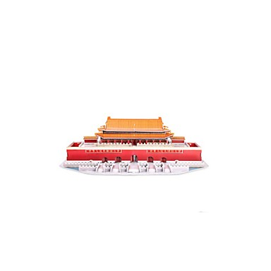 3D Puzzles Jigsaw Puzzle Famous buildings Chinese Architecture Architecture 3D Furnishing Articles Wooden Chinese Style All Ages
