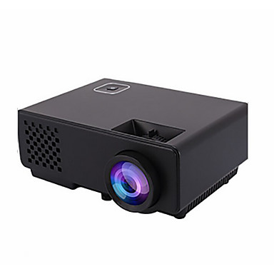 LCD Business Projector Projector 1000 lm Support 1080P (1920x1080) 38-120 inch Screen / WVGA (800x480) / ±15°